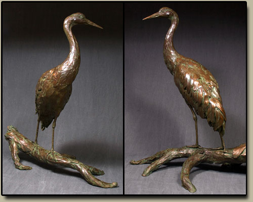 Abuela - Bald Eagle Bronze Sculpture